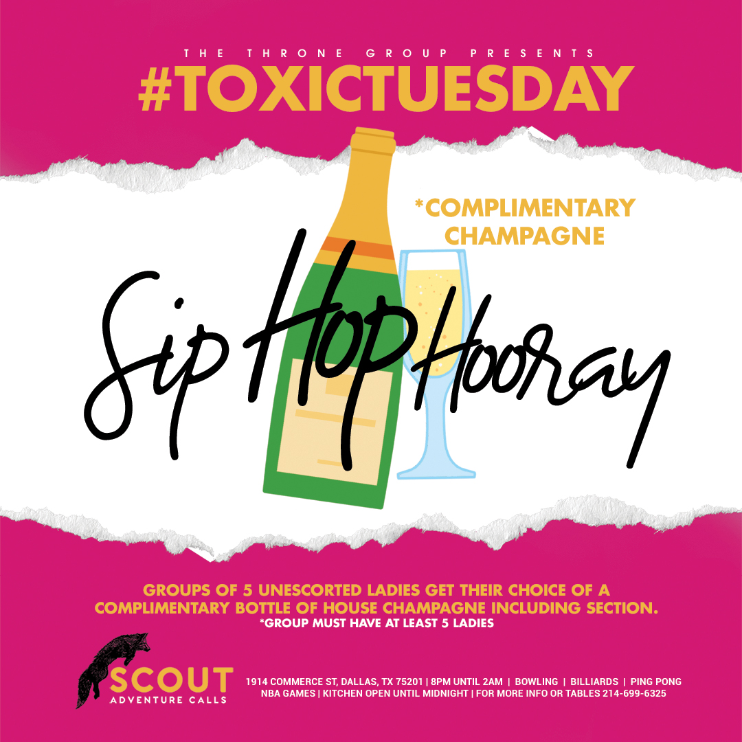 Toxic Tuesday Service Industry Night | Tuesday Night in Dallas, Tx